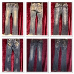 Miss Me Jeans - 3 pairs